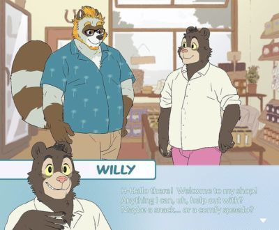 [Artdecade] Tanuki dad x Willy Bear