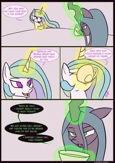 [Kanashiipanda] Royal Visitation (My Little Pony: Friendship is Magic)