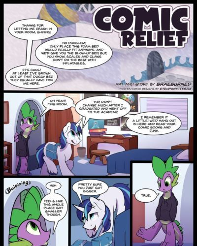 [Braeburned] Comic Relief Parts 1&2