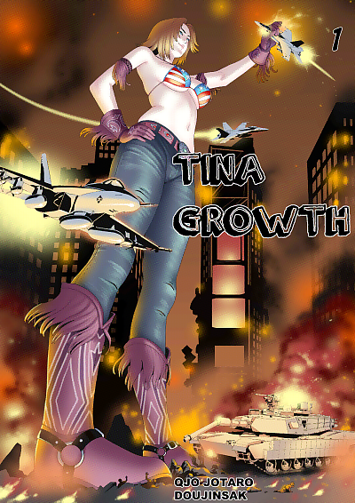 Qjo Jotaro- Tina Growth